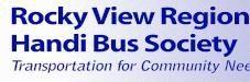 Rocky View Handi Bus Logo